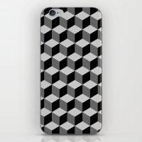 escher iPhone & iPod Skins featuring Escher by Adikt