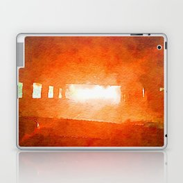 Light at the End of the Tunnel Laptop & iPad Skin