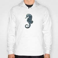 sea horse Hoodies featuring sea & horse by Steffi Louis