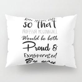 McGonagall Motto Pillow Sham