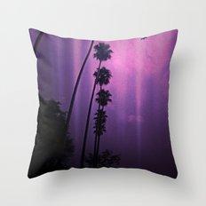 Purple Imagination Throw Pillow