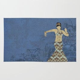 Belly dancer 4 Rug