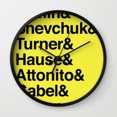 PUNK-ROCK'S FINEST Wall Clock