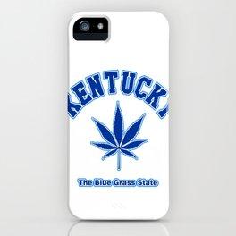 Kentucky Blue Grass iPhone Case