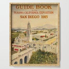 1915 Panama–California Exposition Serving Tray