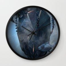 Warm stone Wall Clock