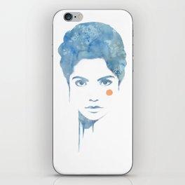 Blue & Orange iPhone Skin