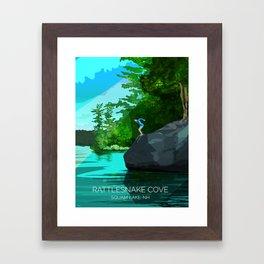 Rattlesnake Cove Framed Art Print