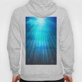 Fantasy Water Turquoise Blue Hoody