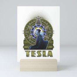 Nikola Tesla Mini Art Print