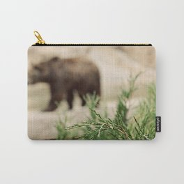 Mr Brown Bear Carry-All Pouch