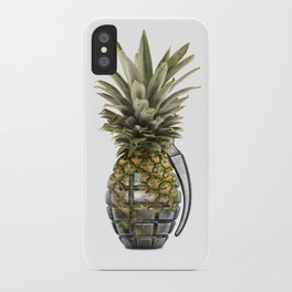 Pineapple Grenade iPhone Case