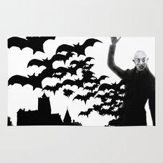 Nosferatu - the real bat Rug
