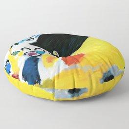 Kandinsky Impression III (Concert) 1911 Artwork Reproduction, Design for Posters, Prints, Tshirts, Men, Women, Kids, Youth Floor Pillow