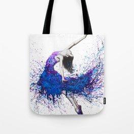 Evening Sky Dancer Tote Bag