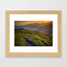 Lake District, England Framed Art Print