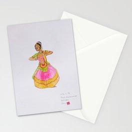 Theja's Bharathanatyam Stationery Cards