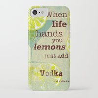vodka iPhone & iPod Cases featuring Add Vodka by Joe Sander