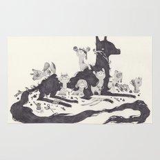 Le Loup et les Sept Chevreaux Rug