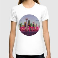 seattle T-shirts featuring Seattle by WyattDesign
