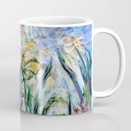 """Claude Monet """"Yellow Irises and Malva"""", 1914 - 1917 Coffee Mug"""
