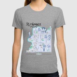 Seminole Heights Map T-shirt