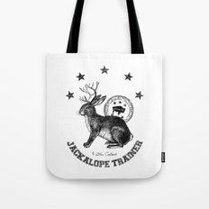 5 star certified jackalope trainer Tote Bag