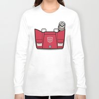 transformers Long Sleeve T-shirts featuring Transformers - Sideswipe by CaptainLaserBeam