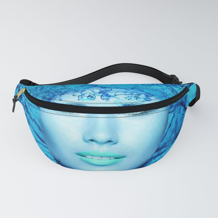 Blue Mermaid Fanny Pack