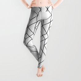Art Deco Geometry 5 Leggings