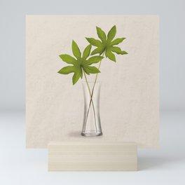 Aralia Leaves Mini Art Print