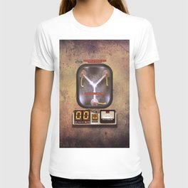 Time machines flux capacitor iPhone 4 5 6 7 8 x, tshirt, mugs and pillow case T-shirt