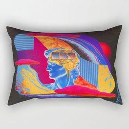 The baffled king, composing. Rectangular Pillow