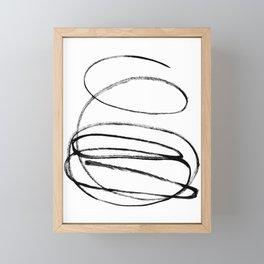 My mind is a mess. Framed Mini Art Print