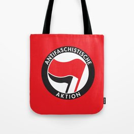 Antifaschistische Aktion Tote Bag