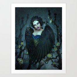 Alkonost Art Print