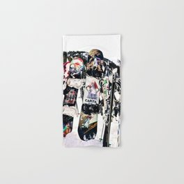 Snowboard Season Hand & Bath Towel