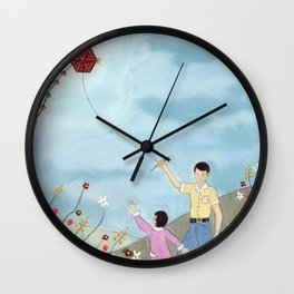 Clean Monday Wall Clock