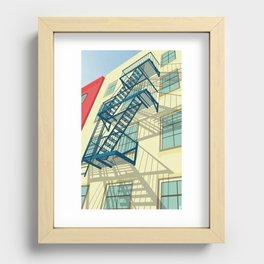 NYC greenwich village Recessed Framed Print
