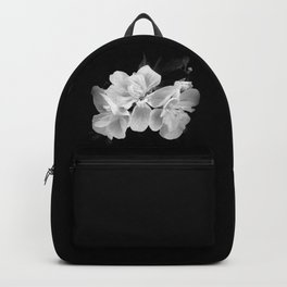 geranium in bw Backpack