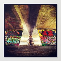 'GRAFFITI' Canvas Print