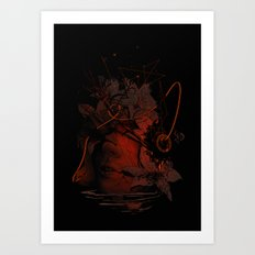 The Lost Track II Art Print