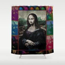 Gioconda Variations Shower Curtain