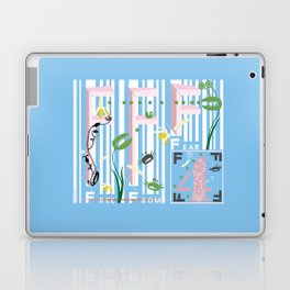Four Freedoms Barcode Laptop & iPad Skin