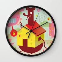 the neighbourhood Wall Clocks featuring Benny's Lunch Simulation by Sauerkids