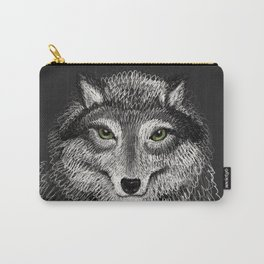Animal Illustration - Volf - Drawing Carry-All Pouch