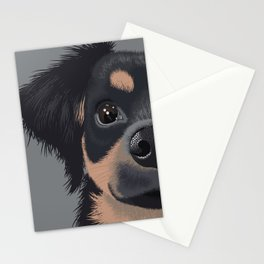 Mila the Carlin Pinscher Stationery Cards