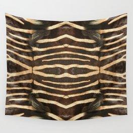 """""""Pop Safari 02 Zebra"""" Wall Tapestry"""