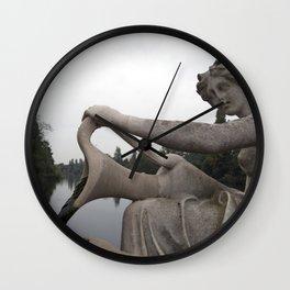 Statuesque Wall Clock