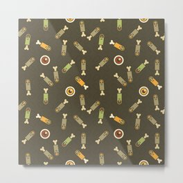 Eyeballs & severed fingers Metal Print